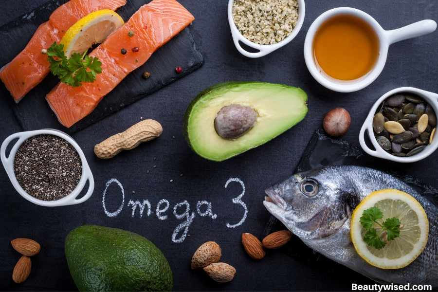 eat a lot of Omega 3 for dandruff