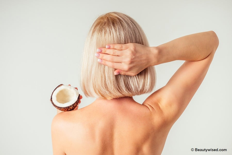 benefits of coconut oil for dandruff and dry scalp