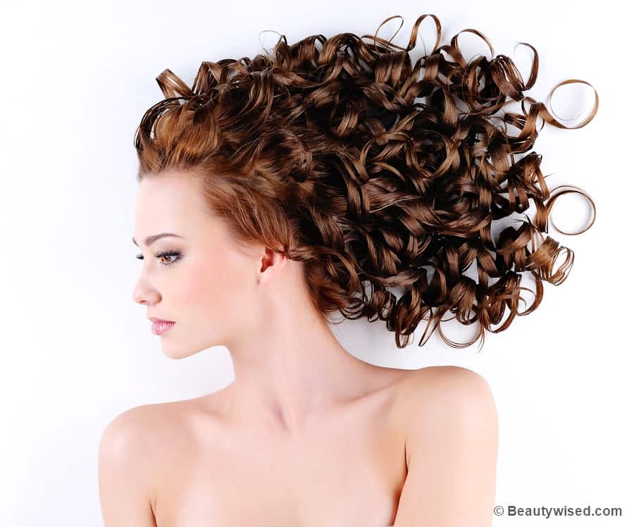 How to deep condition curly hair?