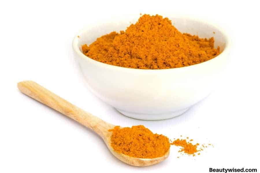 tumeric powder for acne scars