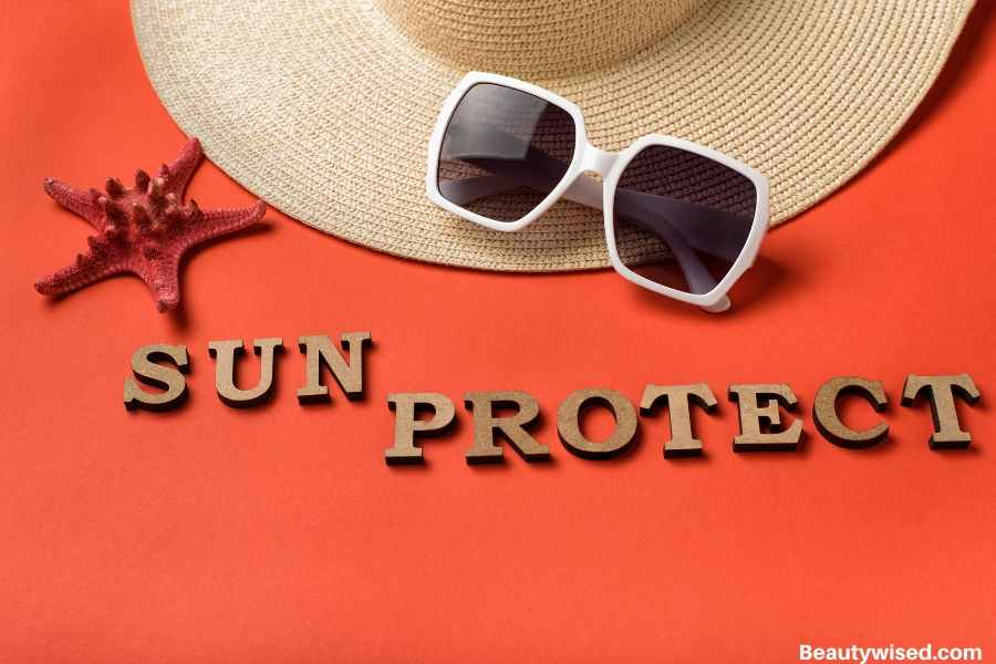 protect scabs from the sun