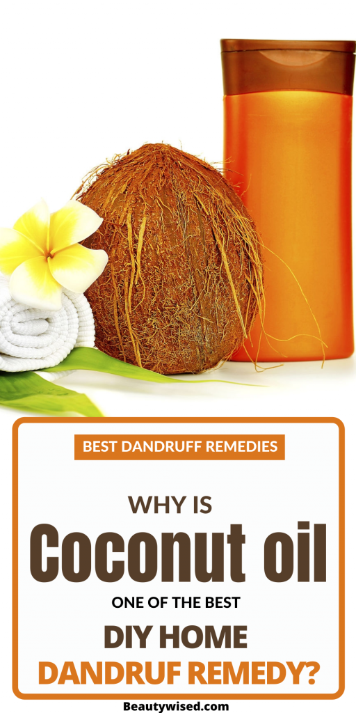 How to use coconut oil for dandruff removal?