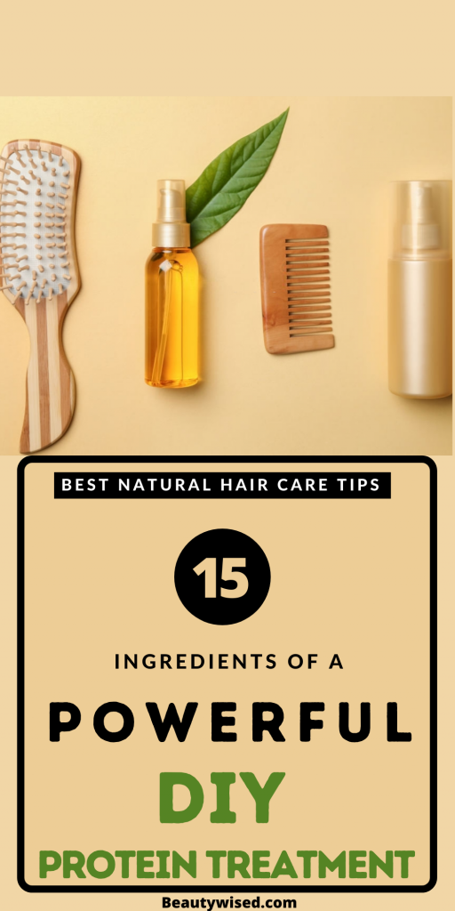 The best DIY homemade natural protein hair treatments