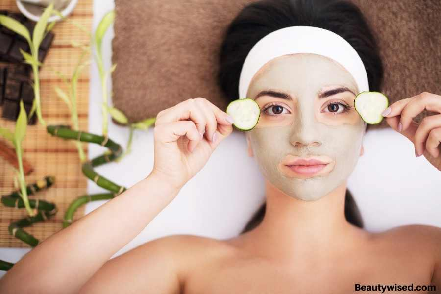 face mask routine by mask type