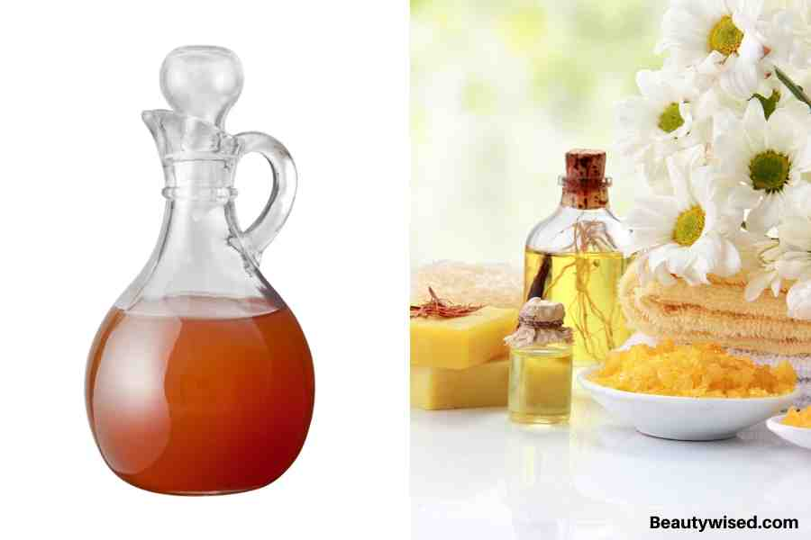 Apple cider vinegar and mineral oil treatment