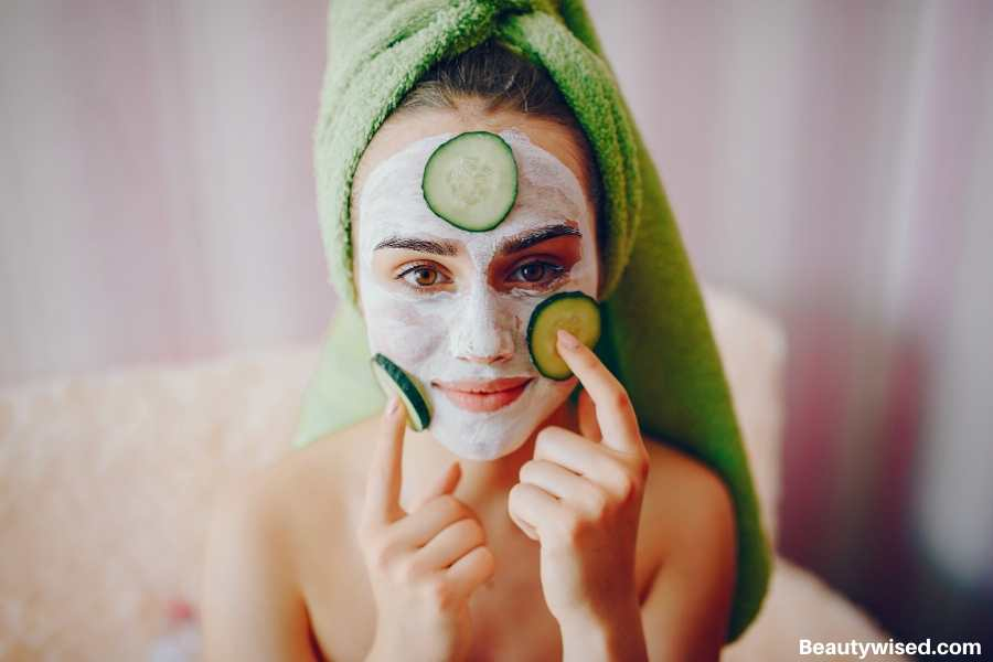 DIY face mask routine