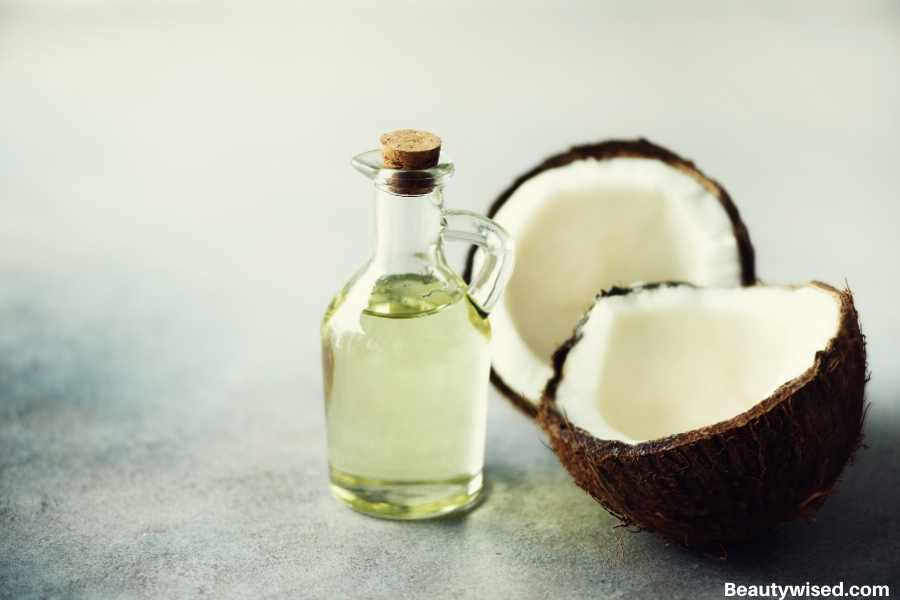 coconut oil for dry nose