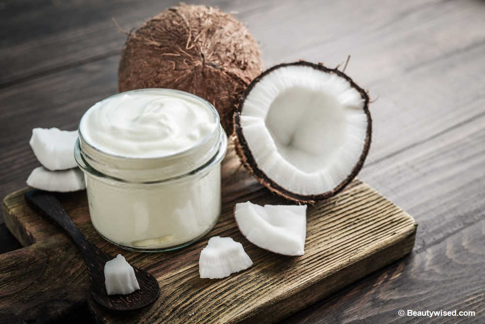 coconut oil and yogurt for dandruff