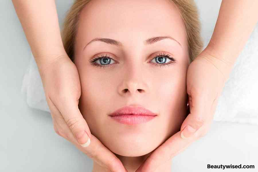face massage for aging skin
