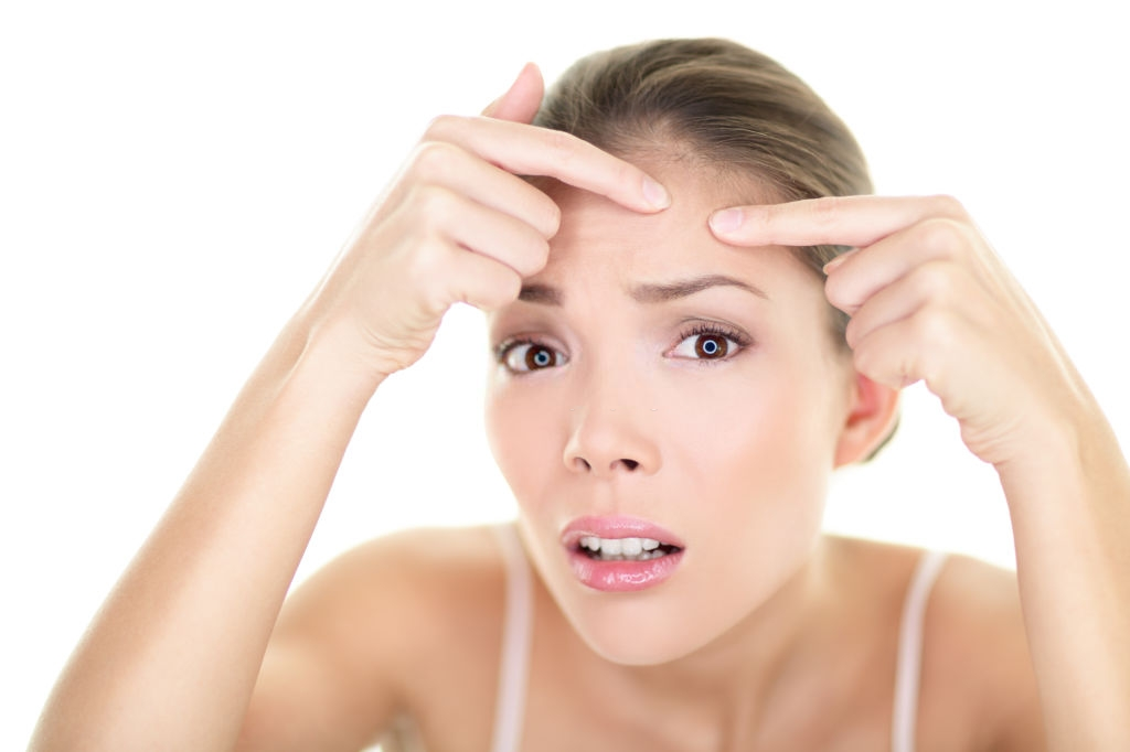 Dos and Don'ts for forehead acne