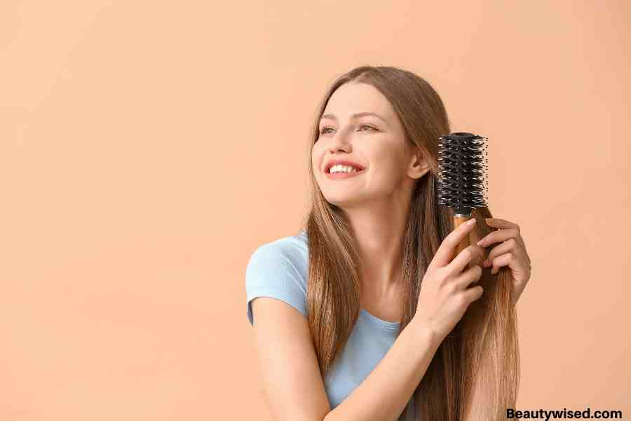 brush your hair twice a day