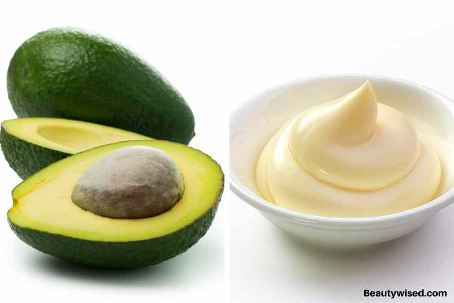 Mayonnaise and avocado protein hair pack