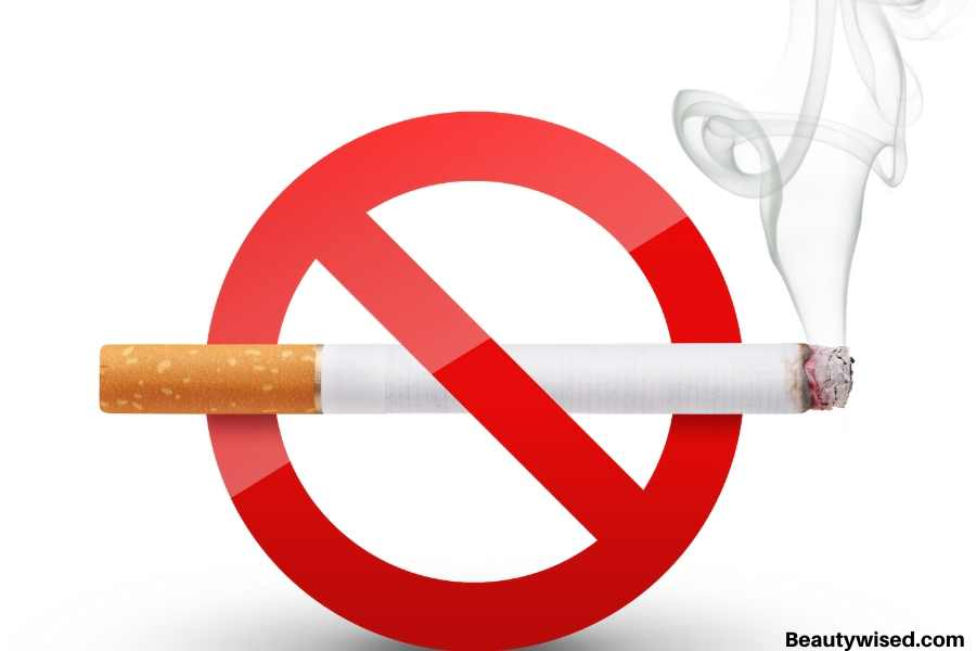 stop smoking for scabs