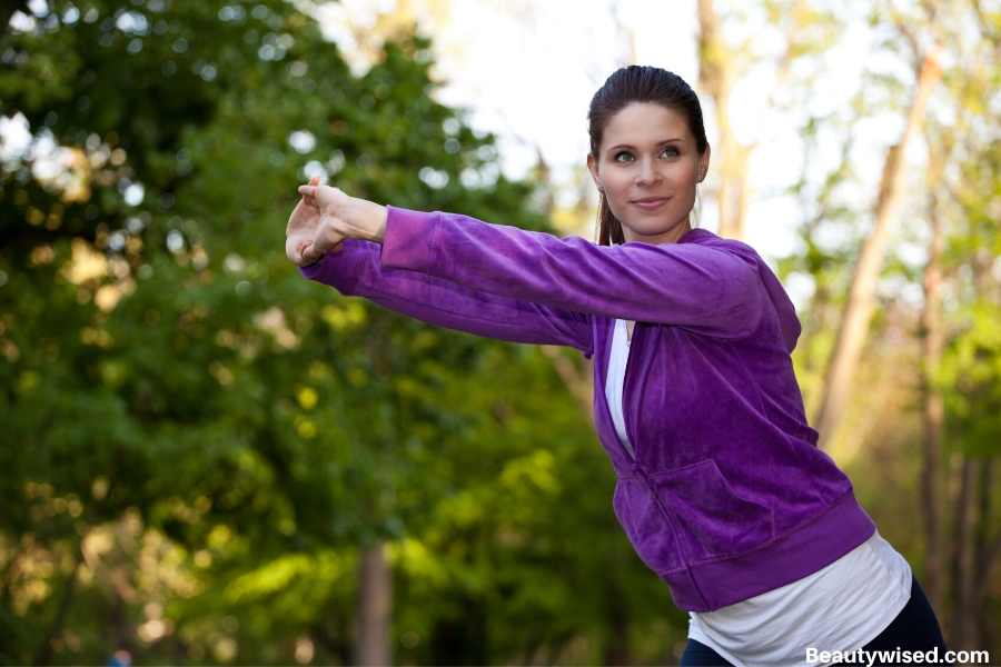 Do regular exercise for acne control