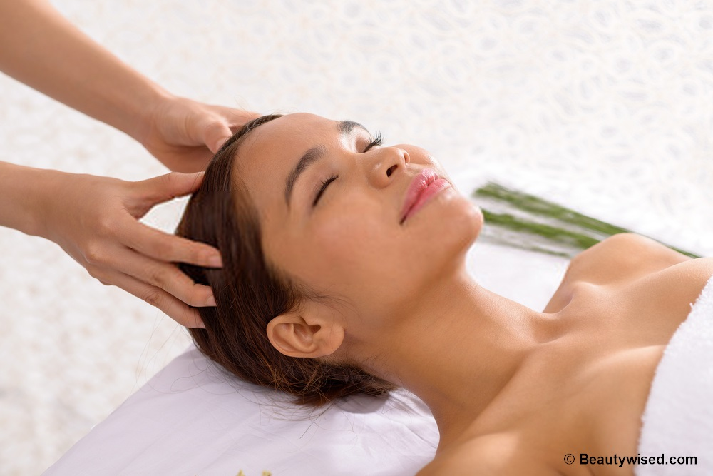 regular scalp massage can help hair growth