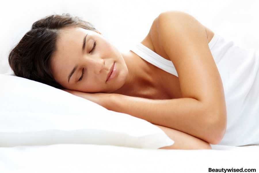 good sleep for aging skin care in 40s
