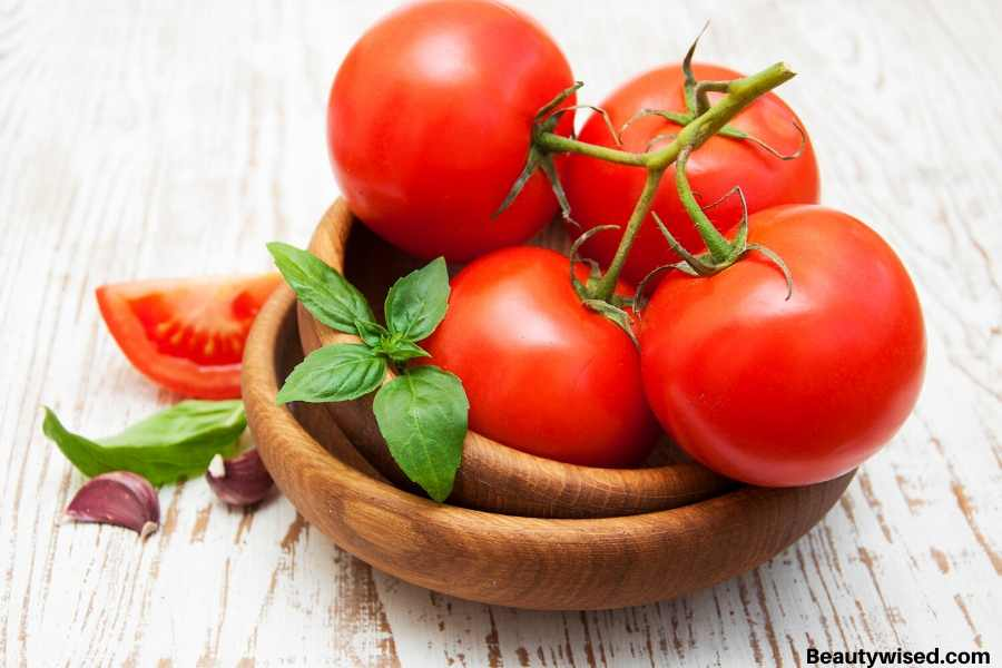 tomatoes for dry skin